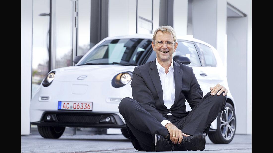 Günther Schuh, Gründer und CEO e.GO