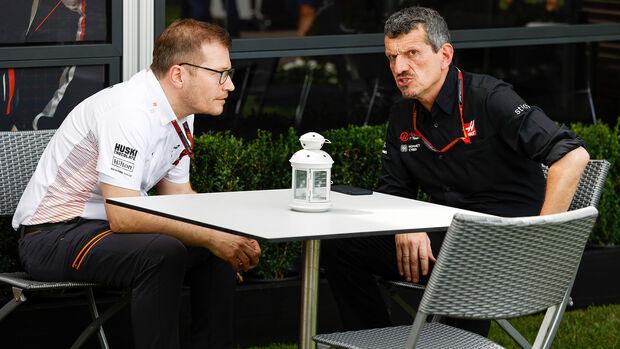 Guenther Steiner & Andreas Seidl - GP Australien 2020