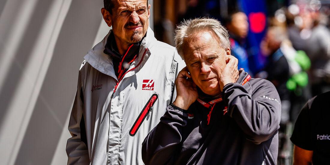 Guenther Steiner - Gene Haas - HaasF1 - GP Spanien 2018