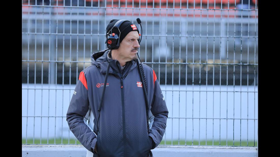 Guenther Steiner - HaasF1 - F1-Test - Barcelona - 27. Februar 2017