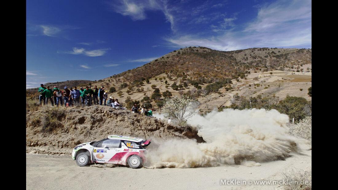Guerra WRC Rallye Mexiko 2013