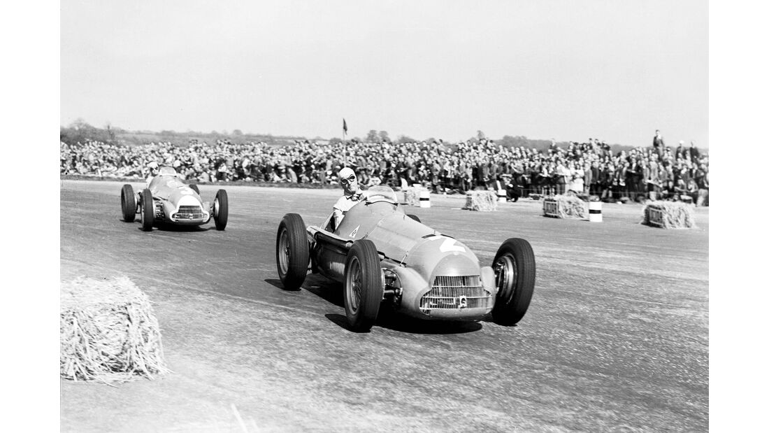 Guiseppe Farina - Alfa Romeo 158 - GP England 1950