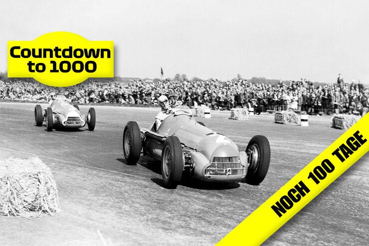 Gp England 1950 In Silverstone So Wurde Formel 1 Geboren Auto