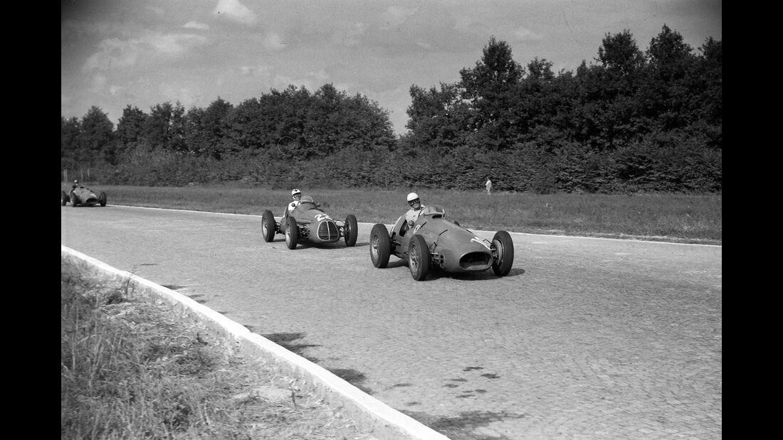 Guiseppe Farina - Ferrari 500 - GP Italien 1952
