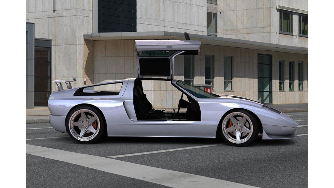 Gullwing America Ciento Once Mercedes C111