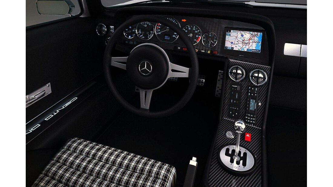 Gullwing America Ciento Once Mercedes C111 Cockpit