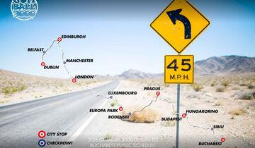 Gumball 3000, Tourplan, Plan, Route, Rallye