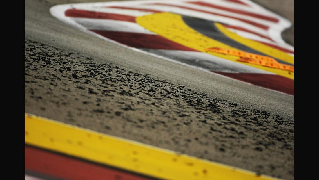 Gummi-Abrieb - GP Singapur 2012