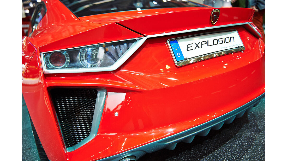 Gumpert Explosion, Genfer Autosalon, Messe 2014