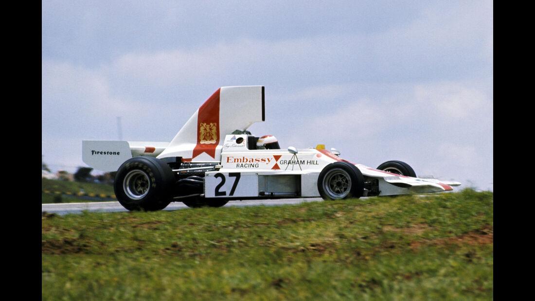 Guy Edwards - Embassy-Hill Lola T370 - GP Brasilien 1974
