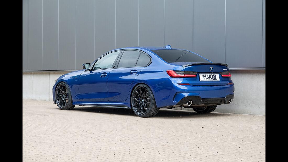 H&R BMW 3er G20 mit Adaptiv-Fahrwerk