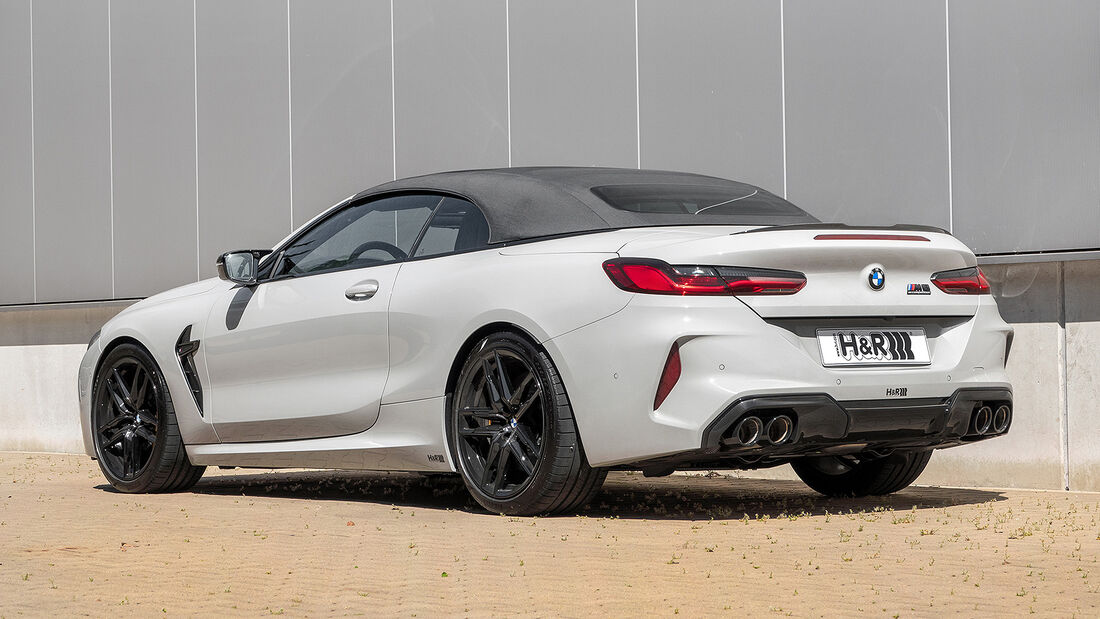 H&R BMW M8 Competition Cabriolet
