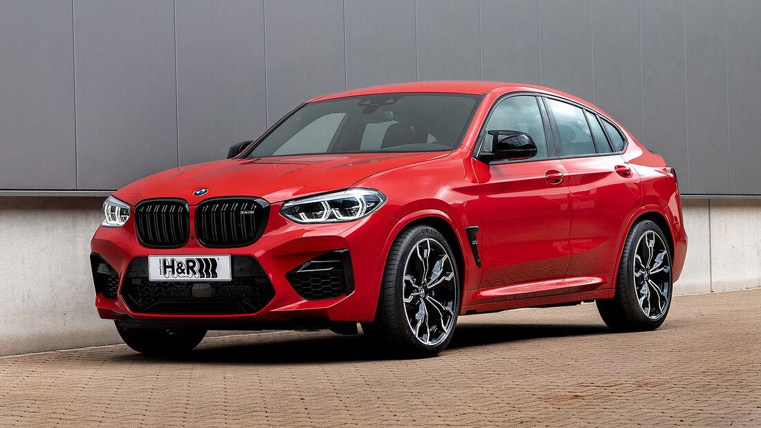 H&R BMW X4M