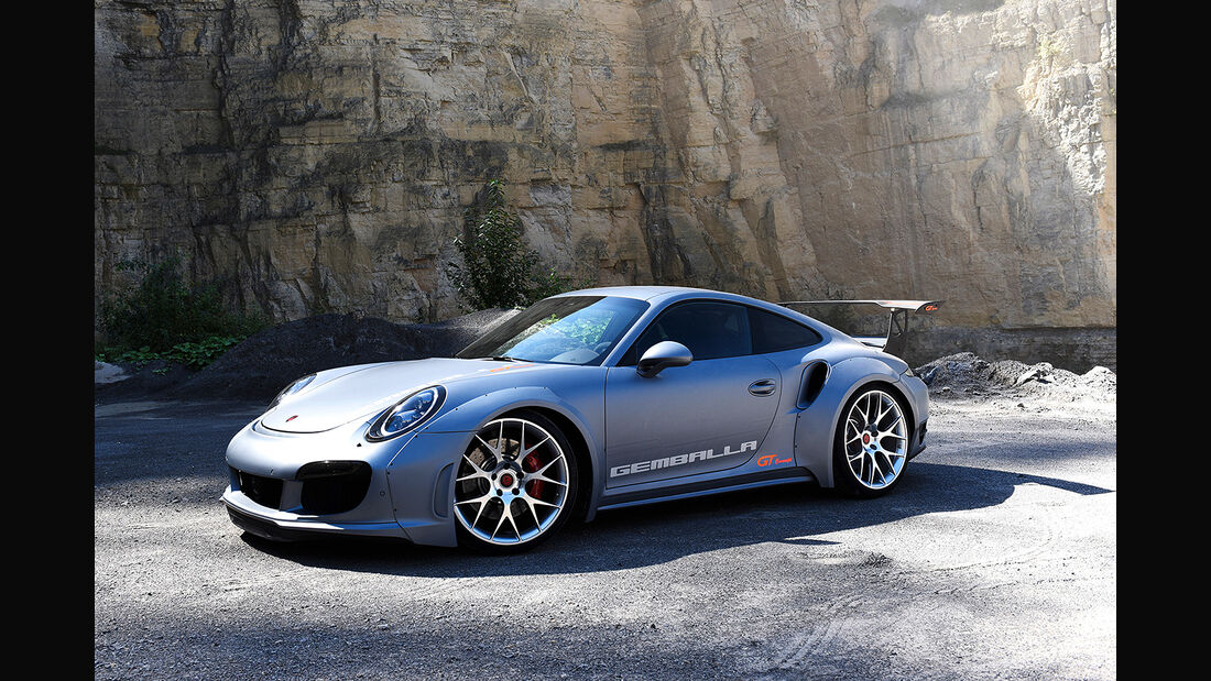 H&R Essen Motor Show 2017: Gemballa GT
