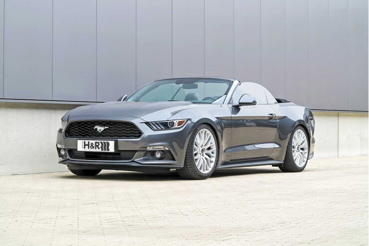 H&R Ford Mustang Cabrio