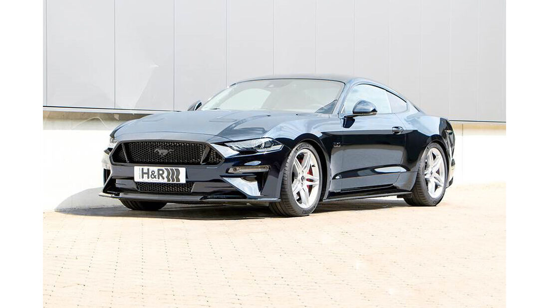 H&R Ford Mustang GT Coupé