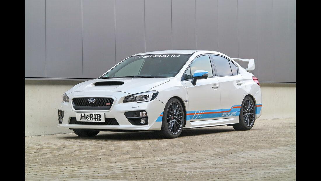 H&R, H und R, Subaru WRX, Clubsport-Fahrwerk
