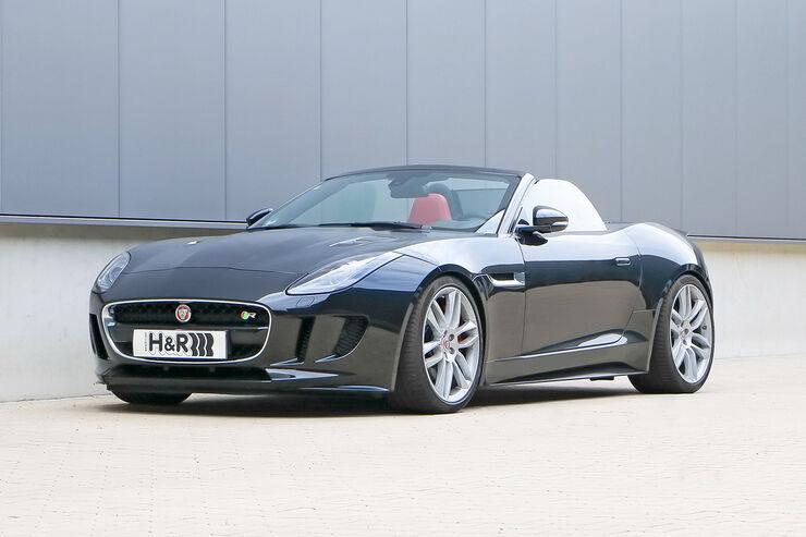 H&R Jaguar F-Type R Cabrio