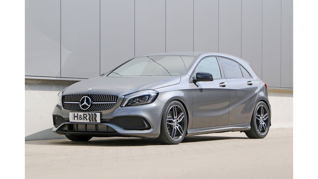 H&R Mercedes A-Klasse