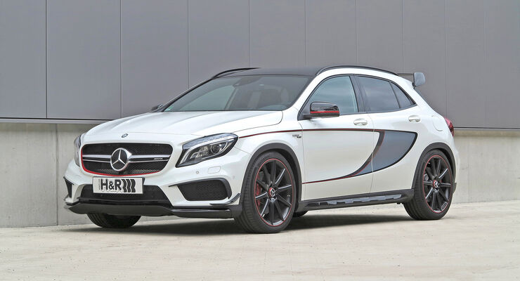 H&R Mercedes-Benz GLA 45 AMG