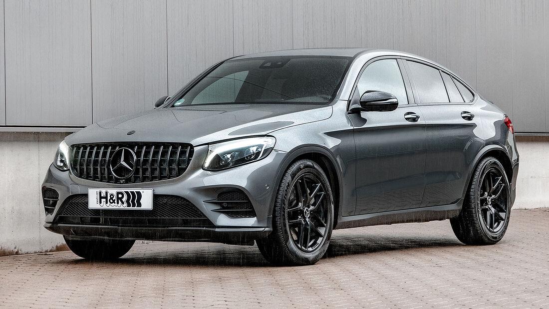 H&R Mercedes Benz GLC Coupé