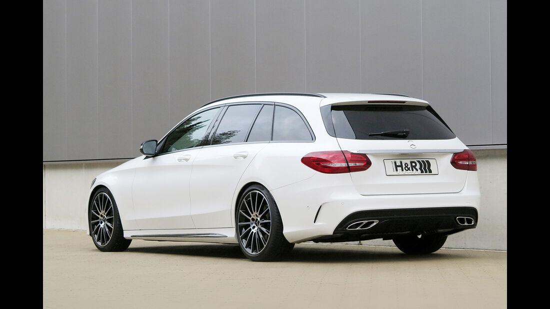 H&R Mercedes C400 4Matic