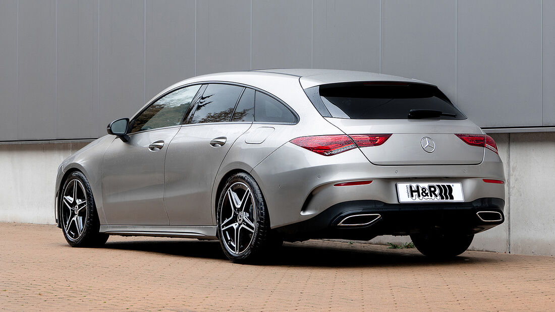 H&R Mercedes CLA Shooting Brake