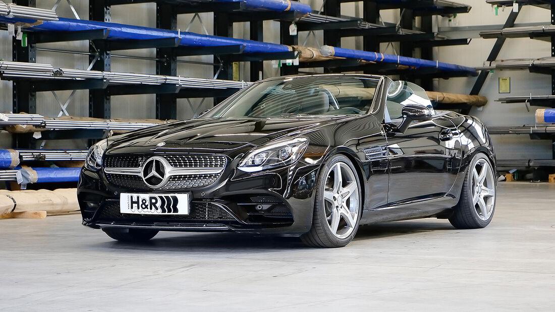 H&R Mercedes SLC