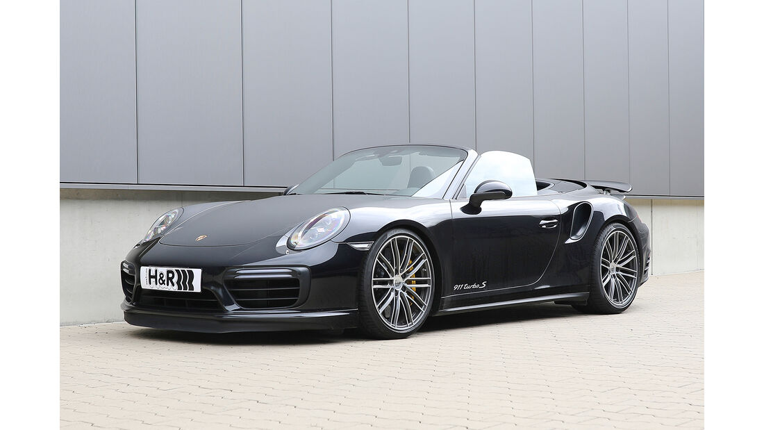 H&R Porsche 911 Turbo S