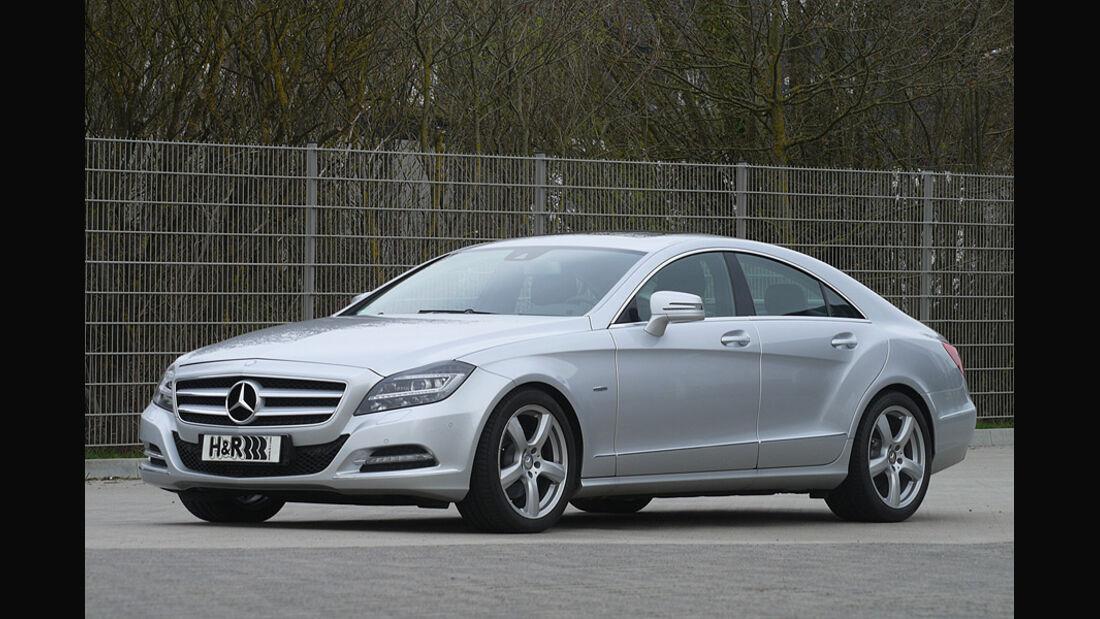 H&R Tieferlegung Mercedes CLS