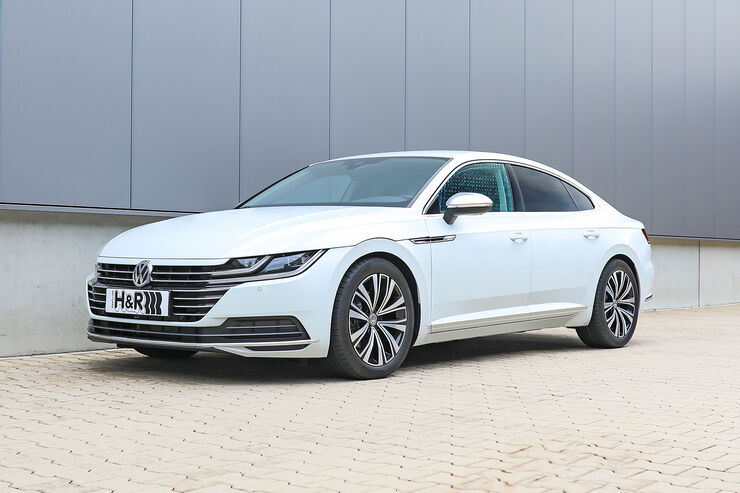 Anzeige h r vw arteon 2017 auto motor und sport for H and r motors