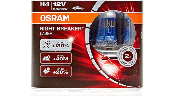 H4 Osram Night Breaker +130%