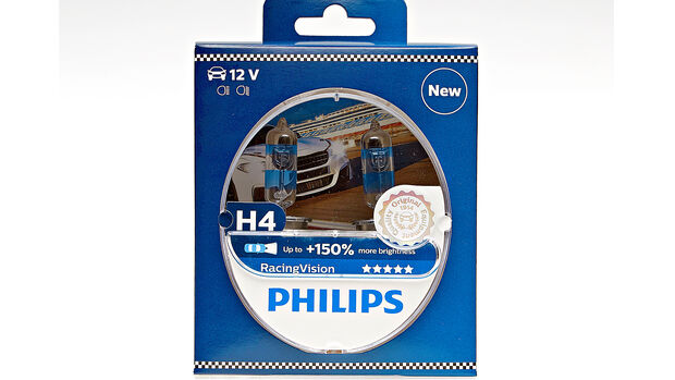 H4 Philips Racing Vision +150%