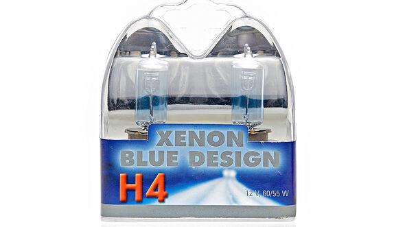 H4 Xenon Blue Design