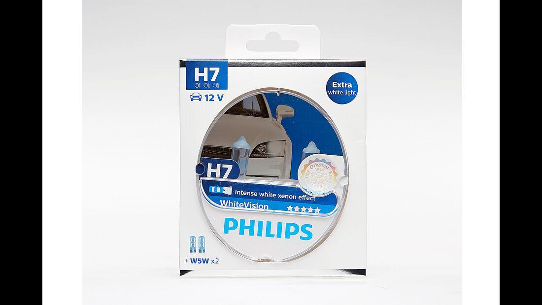 H7 Philips White Vision