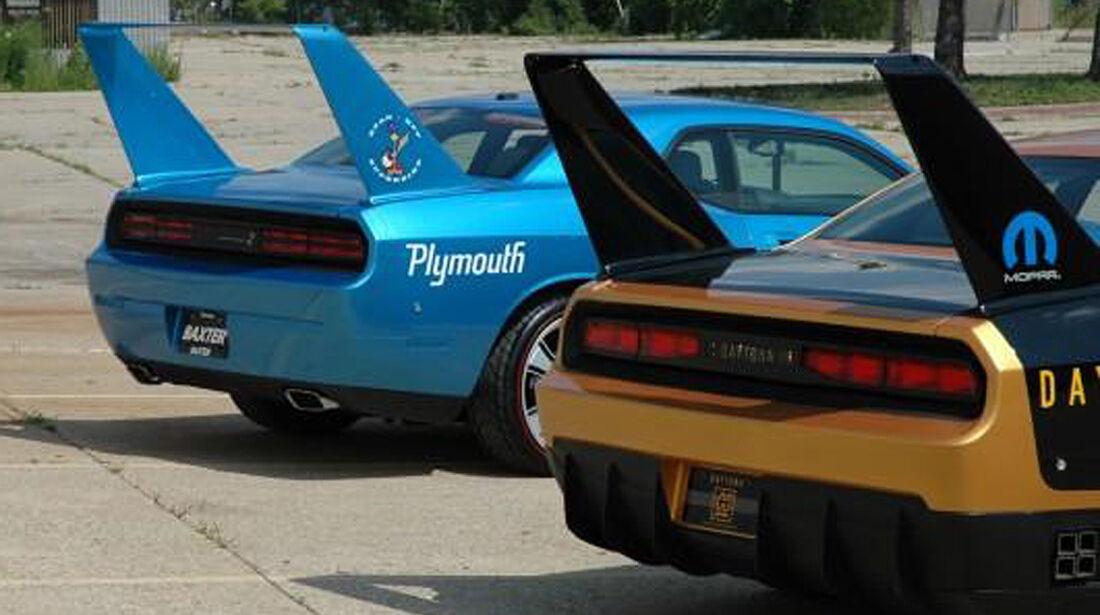 HPP Plymouth Superbird, Dodge Challenger, Heckflügel