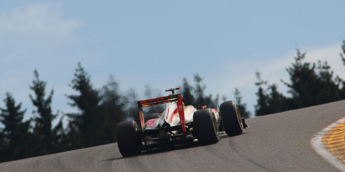 HRT F1 GP Belgien 2012