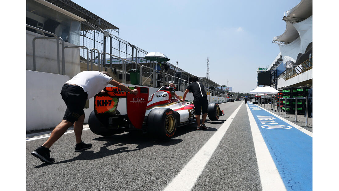 HRT - Formel 1 - GP Brasilien - Sao Paulo - 22. November 2012