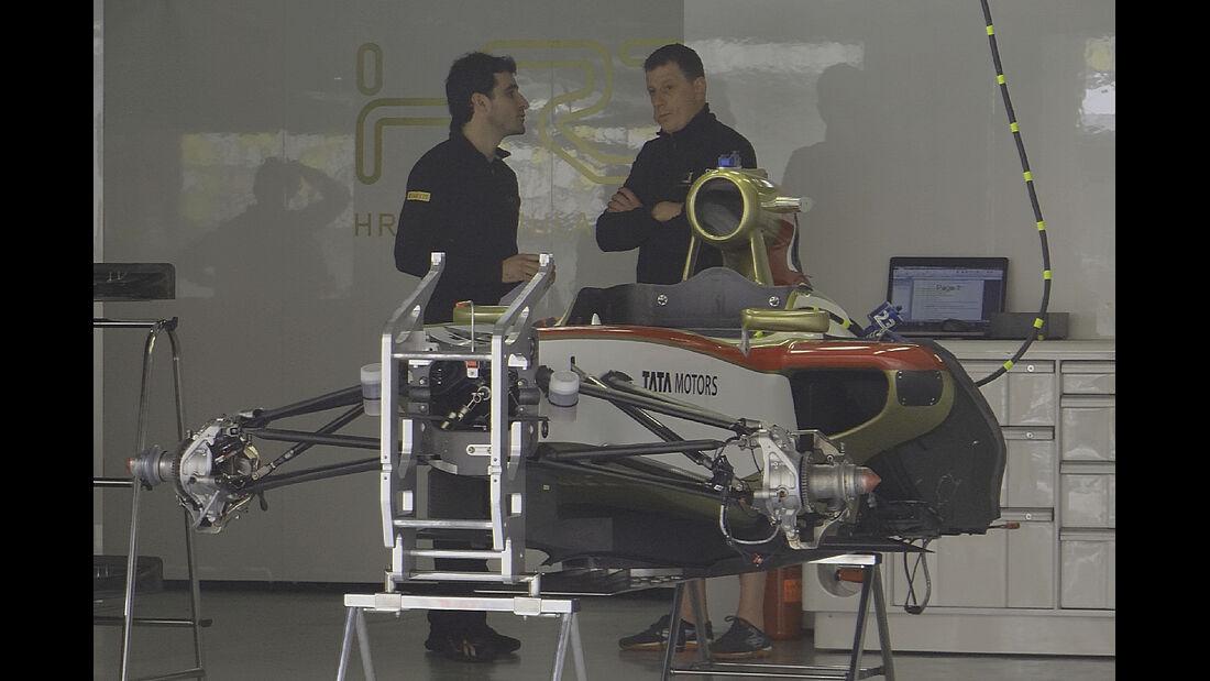 HRT - Formel 1 - GP China - 11. April 2012