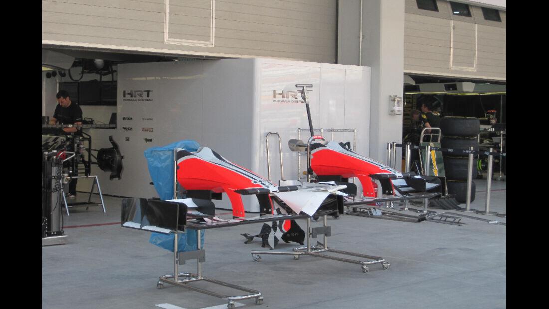 HRT - Formel 1 - GP Korea - 13. Oktober 2011