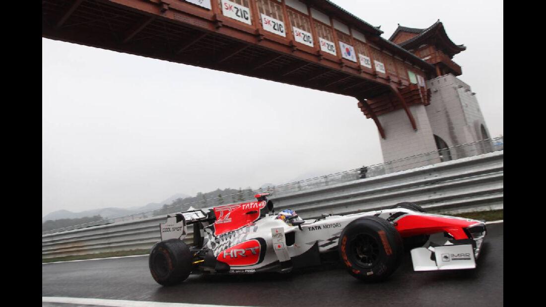 HRT - Formel 1 - GP Korea - 14. Oktober 2011