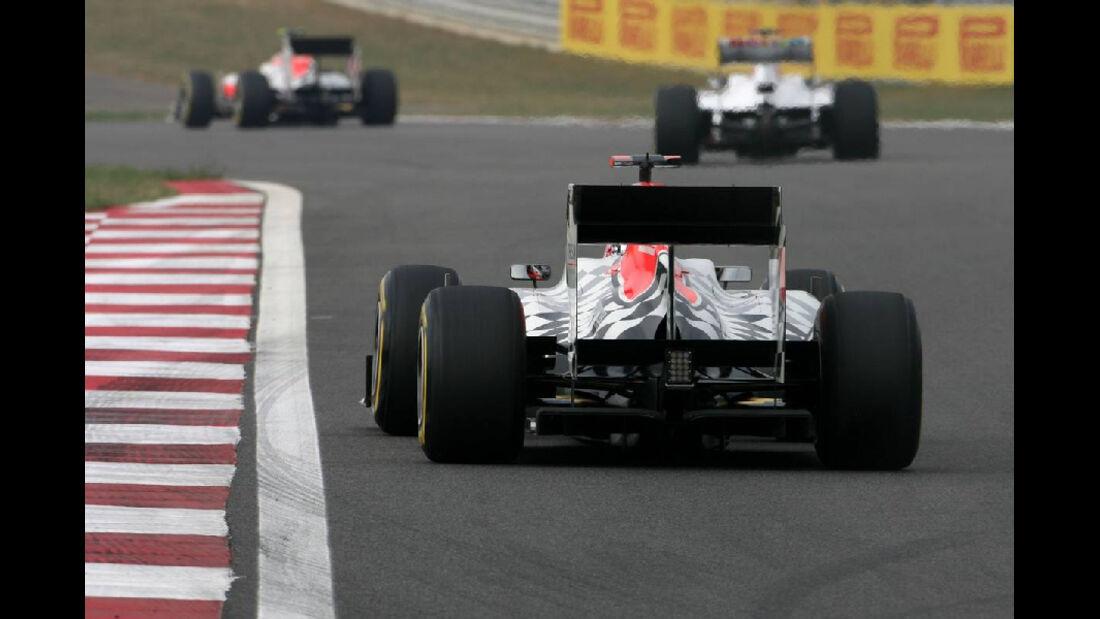 HRT  - Formel 1 - GP Korea - 15. Oktober 2011