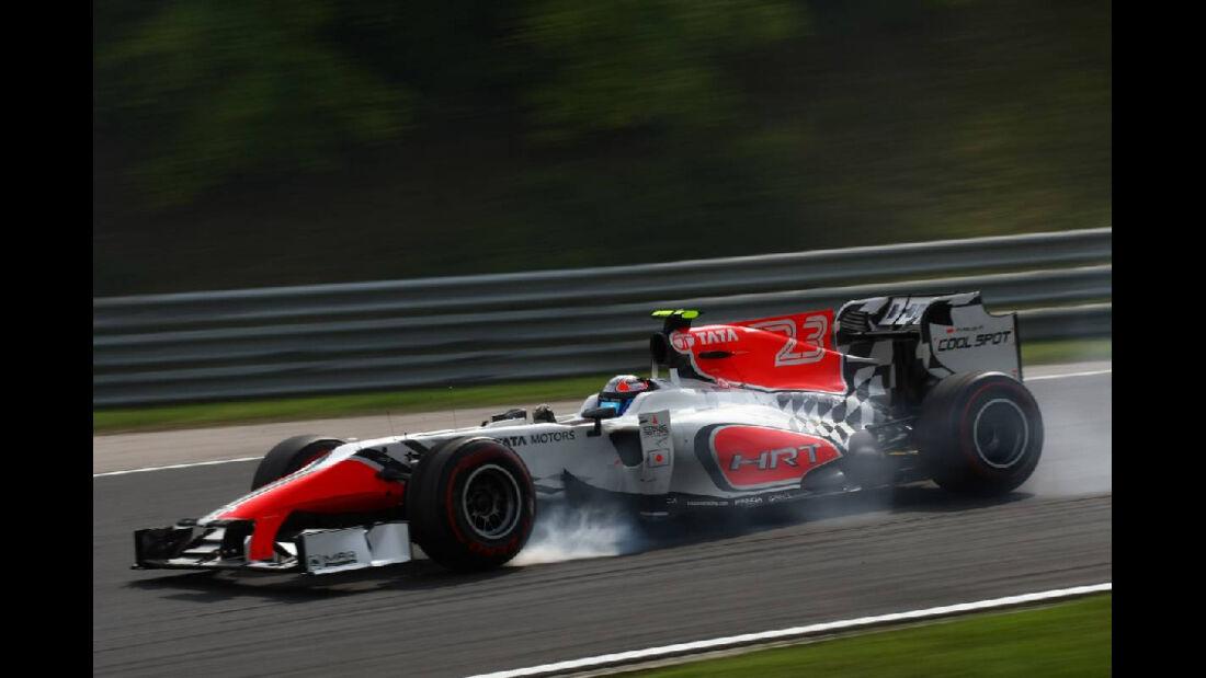 HRT - GP Ungarn - Formel 1 - 29.7.2011