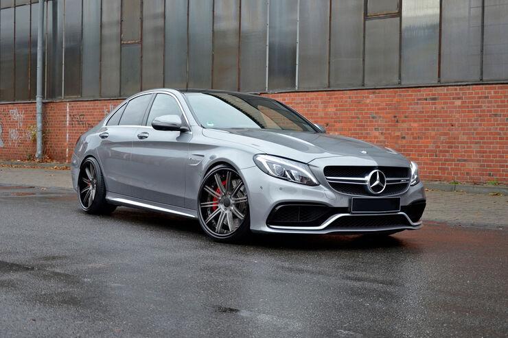 HS Motorsport, MEC Design, Mercedes-AMG C 63, Tuning, Felgen, Auspuff