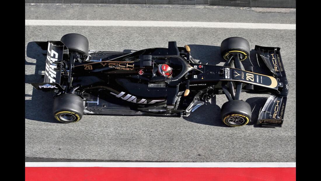 Haas - Abmessungen - Barcelona-Test 2019
