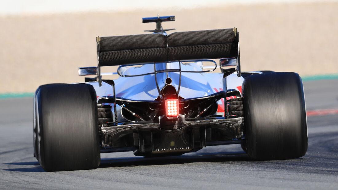 Haas - Diffusor - F1-Test - Barcelona - 2020