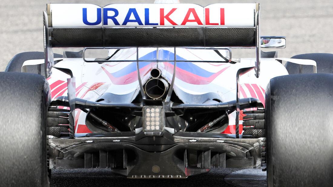 Haas - Diffusor - Formel-1-Test - Bahrain - 2021