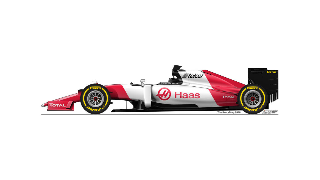 Haas F1 - Formel 1 Design Concepts 2016