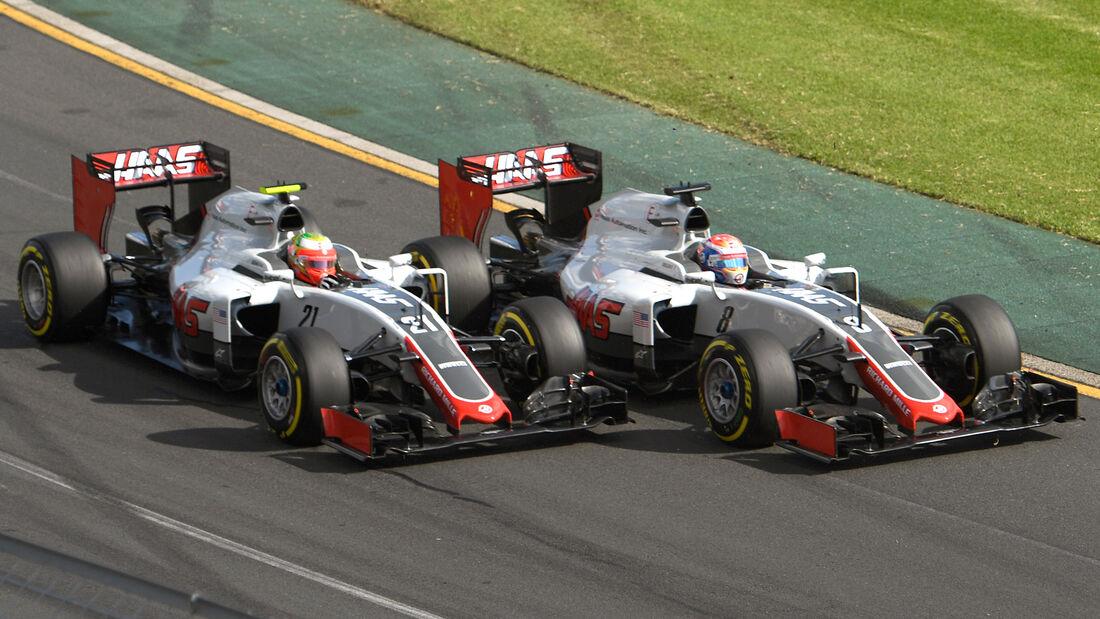 Haas F1 - Formel 1 - Formcheck - GP Australien 2016