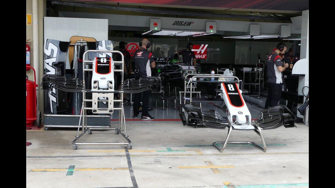 Haas F1- Formel 1 - GP Brasilien - 9. November 2017